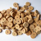 "100 CORK RINGS 1 1/2""X1/2""  BORE 1/4"" GRADE A"