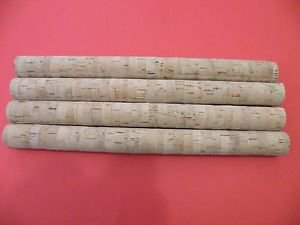 "4 CORK STICKS 14""X1 1/4"" GRADE EXTRA BORE 1/4"