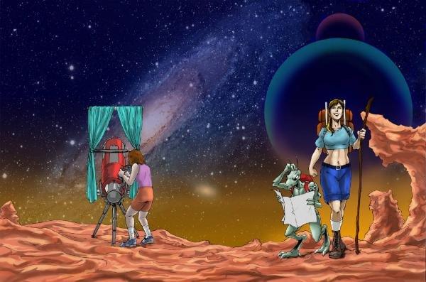 Worlds Beyond: a CAG Prose Anthology