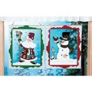 Snowman & Santa Wall Hanging Set
