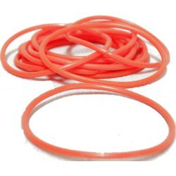 144 Orange Jelly Bracelets