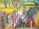 Village scene 2 Bamayos cooking inshima