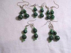 Malacite earrings