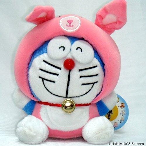 Doraemon (Ding Dang) Chinese Zodiac Plush Rabbit