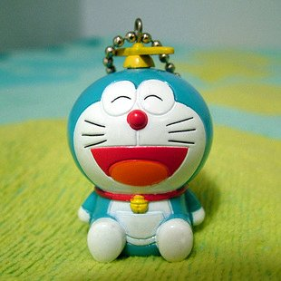 Doraemon/DingDang Takekoputa (small propellers) Keychain