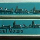 Chevrolet Chevelle 1964 3849498 NOS Pair Fender Name Plate