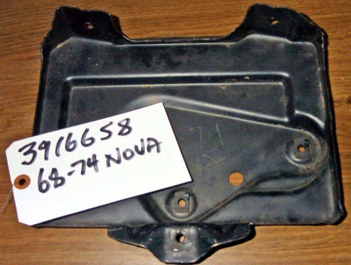 68-74 X Body  Nova Omega Ventura Apollo Battery Tray 3916658