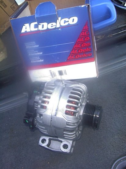 2005 Buick LACROSSE With the 3.6-7 Supercharged Engine Alternator #15208915
