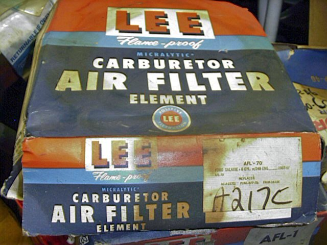 FORD 1965-1967 BIG CAR 6 CYLINDER AIR FILTER  C5AZ-9601C