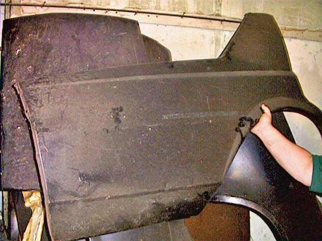 Chevrolet 1977-1979 R/S NOS GM 4 Dr. Quarter Panel 20087546