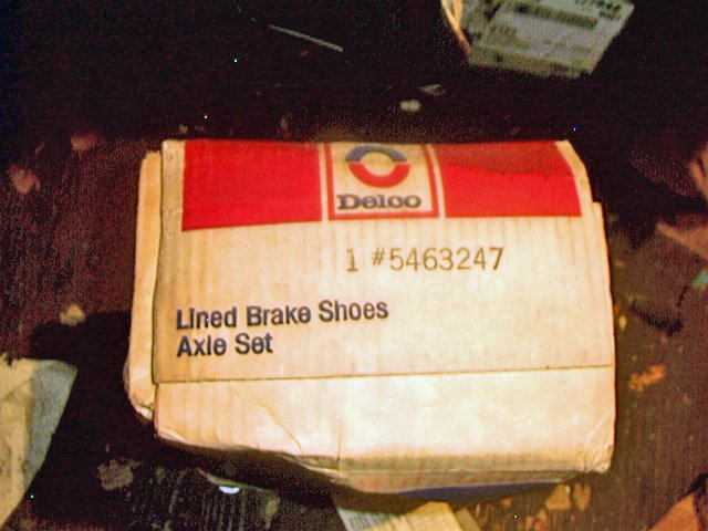 Buick Big Cars 1961-1970 Big Buick inc,Riveria 63-70 Rear DELCO GM Brake Shoes 5463247