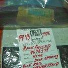 Buick Riviera 1974-76 NOS GM Left Side Roof Rail Weatherstrip NOS GM Original # 9678195 Rare !