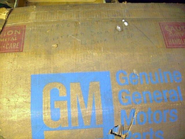 Chevrolet Impala Caprice Spt Sdn 65-66 NOS L/Rear Door panel NOS GM 4529634
