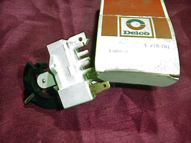 1969-70 Buick AC Selector Switch GM # 1386904