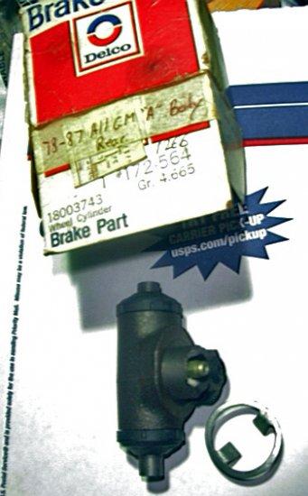 "GM A,G 1978-87 Rr Whl Cyl ""Delco , Malibu, Monte Carlo, Cutlass, Regal, Grand Prix, LeMans, 18003743"