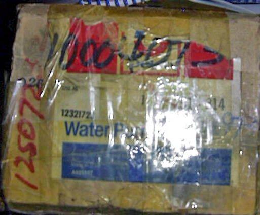Pontiac Iron Duke 2.5 Super Duty Water Pump part #10004073,10042973,  251-314