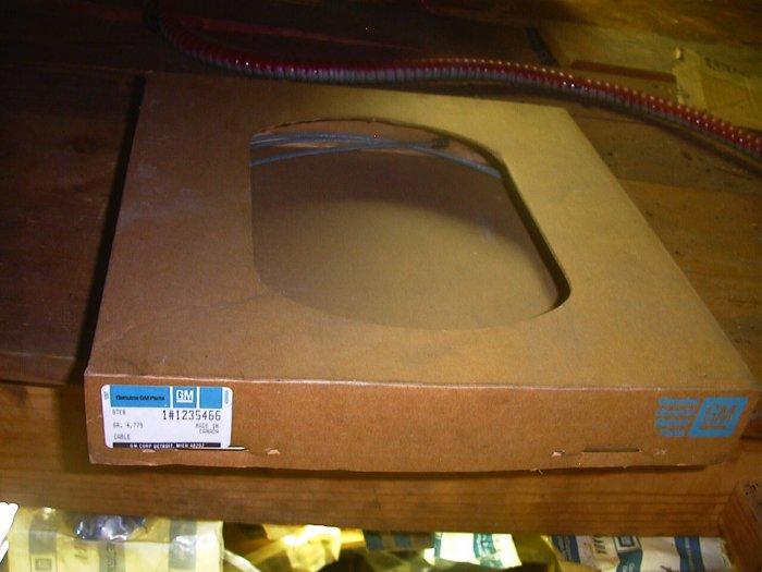 362517 Heater and AC Temperature Control Cable 76-78 Chevette
