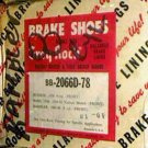 159 Rambler  59-66 Front Brake Shoes
