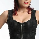 Lip Service Lace-Up Back Bodice Top
