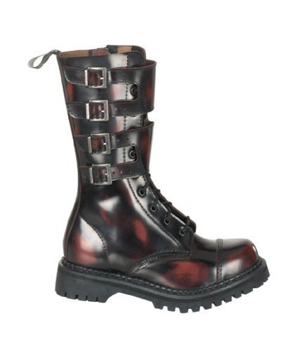 Buckle Strap Combat Boots