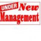 Banner 3ft X 5ft - UNDER NEW MANAGEMENT