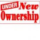 Banner 3ft X 10ft - UNDER NEW OWNERSHIP