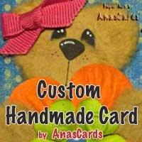Custom Handmade Card (Medium)