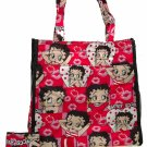 BETTY BOOP HANDBAG/TOTE CELL PHONE HOLDER INCLUDED