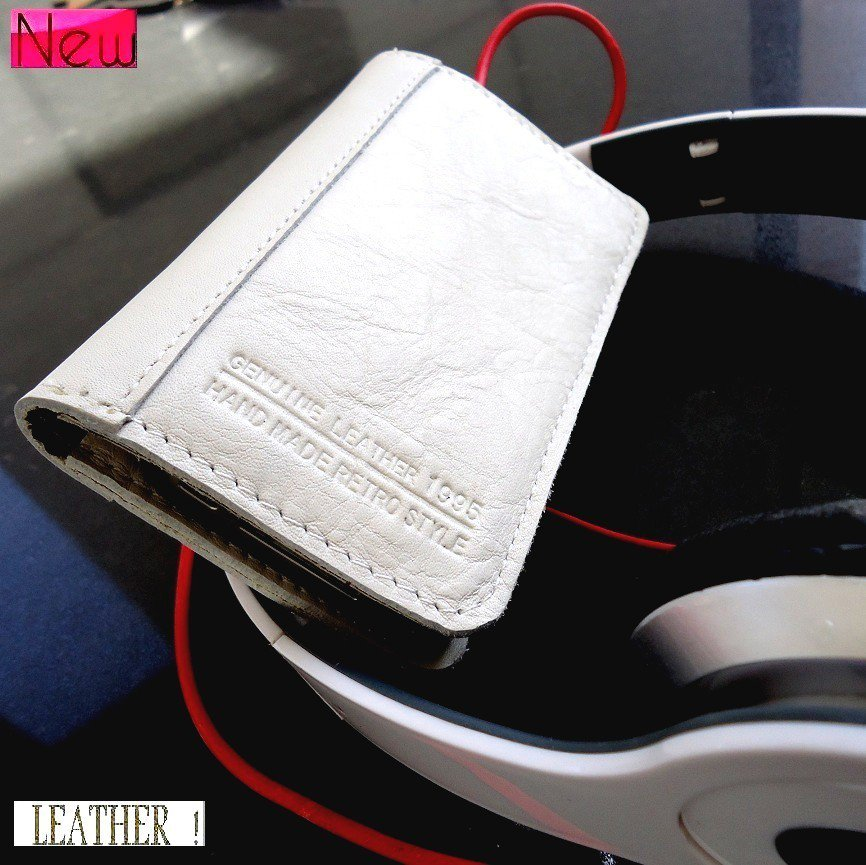 genuine leather case fit iphone 4s book Card wallet 4 s cover holder handmade id free shipping !