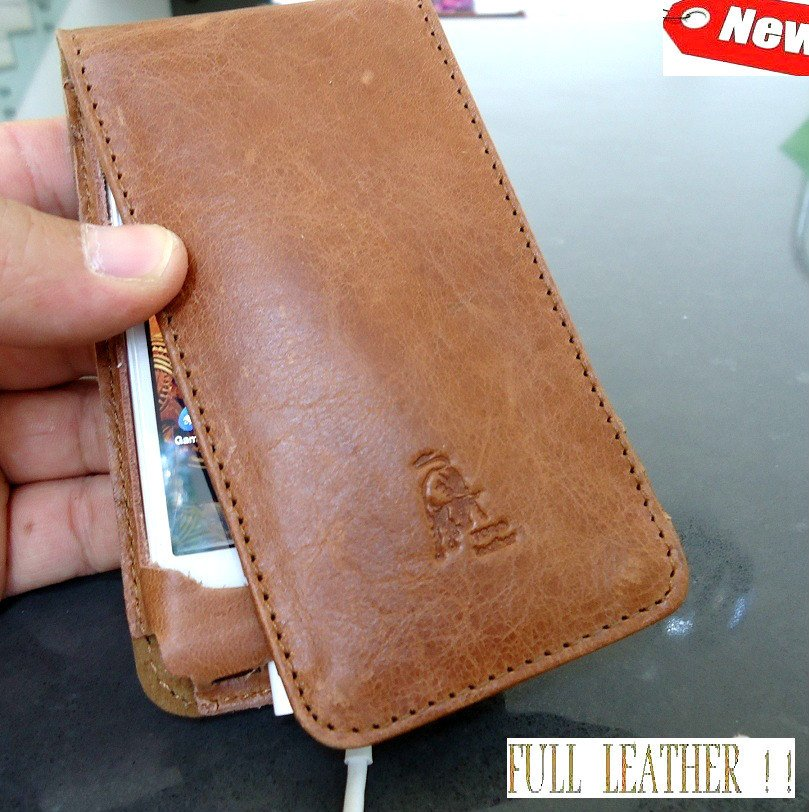 genuine leather Flip case fit iphone 4s book Card wallet 3 stand holder 4 s ID R free shipping !