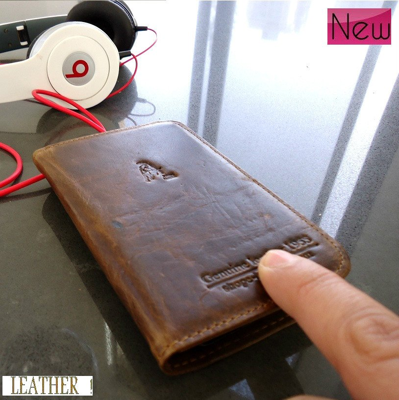 genuine leather case for Samsung book wallet cover stand pouch galaxy sII s2 new