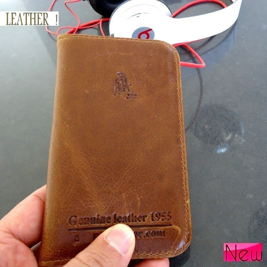 genuine leather case fit Samsung book wallet cover stand pouch galaxy sII s2 ip