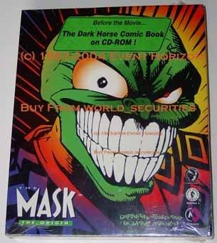 The Mask The Origin Dark Horse Comics CD ROM Windows Macintosh MetroLight Studios Cyber Comics