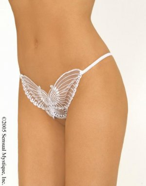 Crotchless Butterfly G-String