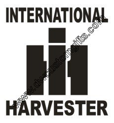International Harvester Decal
