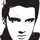 Elvis Presley Head Decal