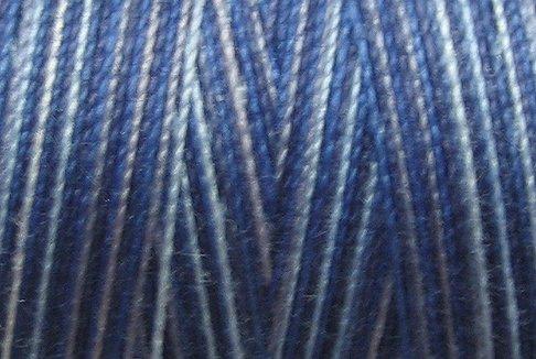 M5 Denim Blues 35wt  500m  Valdani Variegated Cotton Quilting Thread q1