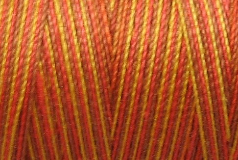 M7 Fall Leaves 35wt  500m  Valdani Hand Dyed Variegated Cotton Quilting Thread  q1