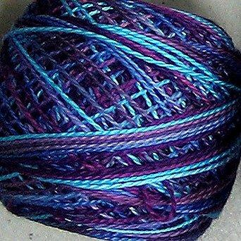 M33 Lollipop  Pearl Cotton size 12  Valdani Variegated q6