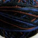 M53 Moonlit Mountains Pearl Cotton size 8 Valdani Variegated q1