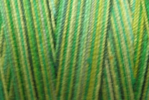M26 Green Grass 35 wt 500m  Valdani Hand Dyed Variegated Cotton Quilting Thread q1
