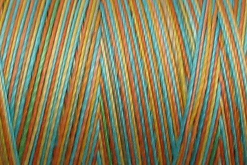 M36 - Sunny Rainbow - 35wt - 500m - Valdani Variegated Thread -  q1