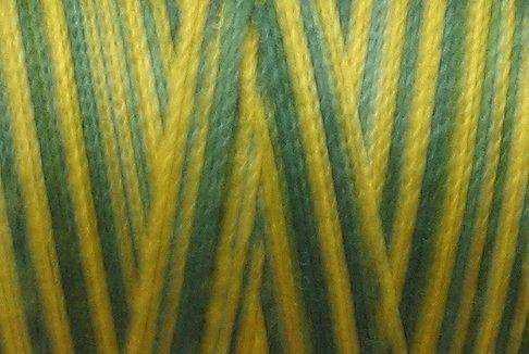 M50 - Green Pines - 35wt - 500m - Valdani Variegated Thread  q1
