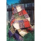 Rag Quilt - Soft Throw pattern by Snowflake Memories - French  Version  free ship US CA q4