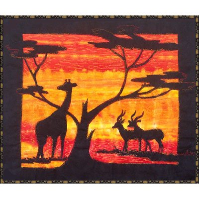 Savannah Quilt Panel pattern by Snowflake Memories - easy class and school project