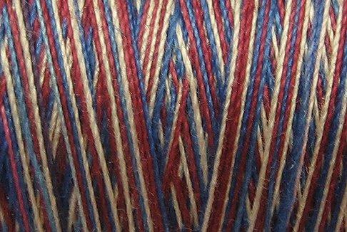 M13 Americana 35 wt 500m  Valdani Hand Dyed Variegated Cotton Quilting Thread Free Ship US CA q1