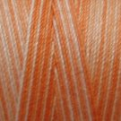 M22 Peaches 35 wt 500m  Valdani Hand Dyed Variegated Cotton Quilting Thread q1