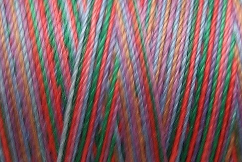 M35 Gem Symphony 35wt 2000m cone Valdani Hand Dyed Variegated Cotton Quilting Thread  q1