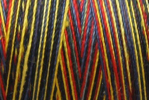 M11 Night Fire 35wt  500m  Valdani Hand Dyed Variegated Cotton Quilting Thread q1