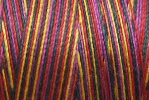 M34 Jubilation 35wt 2000m cone Valdani Hand Dyed Variegated Cotton Quilting Thread  x0
